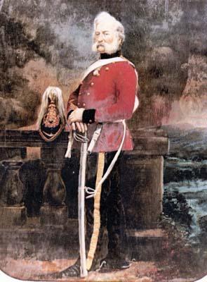 Sgt John Adams of the King's Dragoon Guards